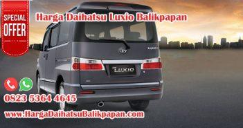 Harga Daihatsu Luxio Balikpapan