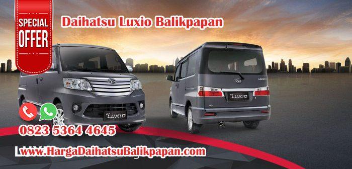 Kredit Daihatsu Luxio Balikpapan